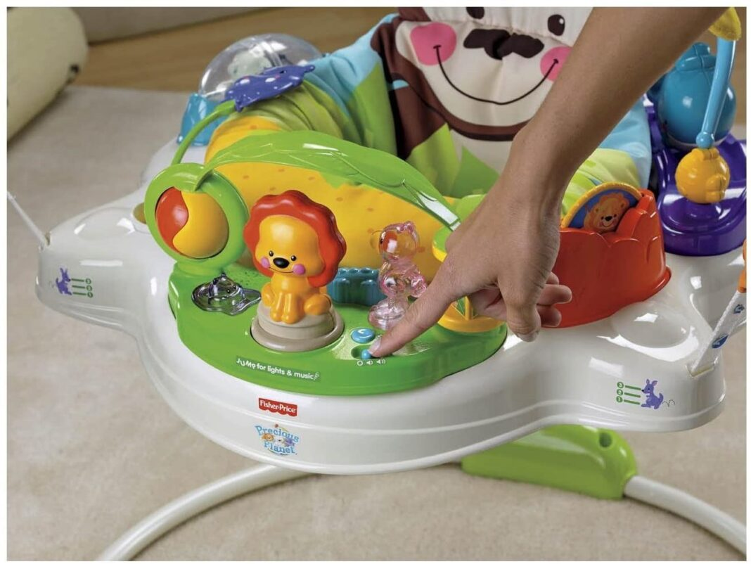 The Planet Jumperoo from Fisher-Price at Mothercare
