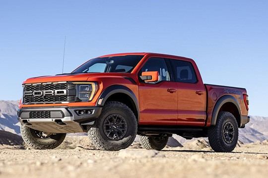 Ford's first hybrid pickup truck